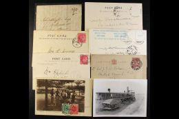 BR. COMMONWEALTH COVERS Small Group Incl 1937 Aden Reg Coronation FDC, Canada 1920 Reg To Holland Franked Various... - Stamps