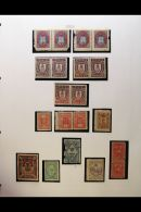 EUROPE - ATTRACTIVE QUIRKY COLLECTION IN TWO VOLUMES Mint And Used, Nicely Written Up And Augmented With... - Stamps
