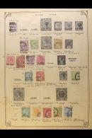 ANCIENT COMMONWEALTH COLLECTION 1850s-1950s. A Mostly Used Range From A Wealth Of Countries Presented On A Pile Of... - Stamps