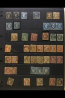 ALL WORLD SORTER CARTON 1850s-1980s MINT/NHM & USED Ranges In A Medium Sized Box. We See A Series Seven File... - Stamps