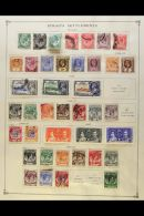COMMONWEALTH 1850's - 1930's COLLECTION Of Fine Mint & Used Stamps Arranged On A Fat Pile Of Old Album Pages... - Stamps