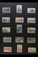 EUROPE AND AREAS IN 5 BINDERS. A Very Fine Quality Collection Of Mint (much Never Hinged) And Used Stamps From The... - Stamps