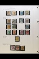BRITISH ASIA - ATTRACTIVE COLLECTION IN TWO VOLUMES Nicely Written Up And Augmented With Illustrations, Photos,... - Stamps