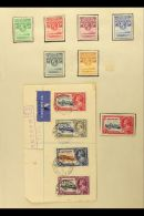 BRITISH AFRICA 1860's-1970's MINT & USED COLLECTION On Leaves, Mainly All Different, Inc Basutoland 1935... - Stamps