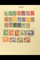 BRITISH WEST INDIES - LEEWARD ISLANDS QV To QEII (chiefly Pre-1960) Mint And Used Collection On Album Pages,... - Stamps