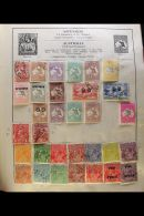 INTERESTING 'OLDE TYME' WORLD COLLECTION. 1841-1940's Mint & Used Mostly All Different Collection In A Well... - Stamps