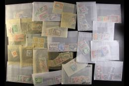 BRITISH COMMONWEALTH - MINT HOARD Mostly Complete Sets, Geo V To QEII Fresh Mint/NHM In Glassine Packets In Small... - Stamps