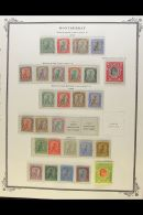 BRITISH WEST INDIES - SUBSTANTIAL MINT AND USED COLLECTION 1850's To 1970's On Printed Pages, Plus Some (often... - Stamps