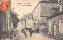 58-BRINON-SUR-BEUVRON- HÔTEL DE VILLE ET GENDARMERIE - Brinon Sur Beuvron