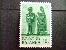 KATANGA  1961 KATANGESE KUNST - COB Nº 52 * MH - Katanga