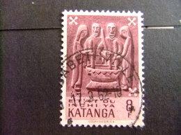 KATANGA  1961 KATANGESE KUNST - COB Nº 61 º FU - Katanga
