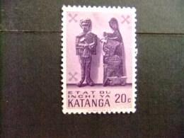 KATANGA  1961 KATANGESE KUNST - COB Nº 53 * MH - Katanga