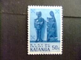 KATANGA  1961 KATANGESE KUNST - COB Nº 54 * MH - Katanga