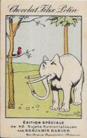 CPA Benjamin RABIER 10,5 X 7 Publicité Publicitaire Chocolat Felix POTIN éléphant - Chromos