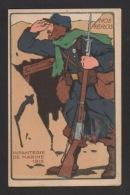 CPA : NOS HÉROS . Infanterie De Marine 1915 . - Régiments