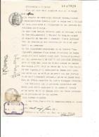 FISCAUX SUR PAPIER FILIGRANE REPUBLIQUE FRANCAISE 1940 + R - Revenue Stamps