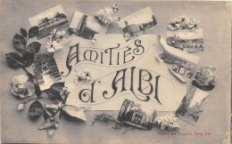 CPA 81 AMITIES D'ALBI - Albi