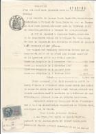 FISCAUX SUR PAPIER FILIGRANE REPUBLIQUE FRANCAISE 1947 + R - Fiscaux