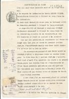 FISCAUX SUR PAPIER FILIGRANE REPUBLIQUE FRANCAISE 1946 + R - Fiscaux