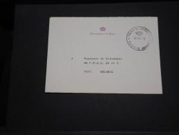 BELGIQUE - Enveloppe En Franchise Du Secrétariat De La Reine En 1981 - A Voir - L 2525 - Belgium