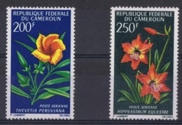 CAM-5 - CAMEROUN PA 99/100 Neufs** Fleurs - Camerun (1960-...)