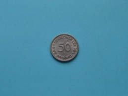 1949 D - 50 PFENNIG / KM 104 ( For Grade , Please See Photo ) ! - [ 7] 1949-… : RFA - Rep. Fed. Alemana