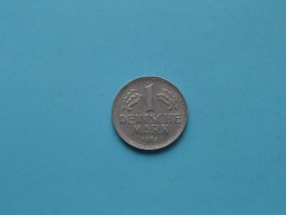 1963 J - 1 Mark / KM 110 ( For Grade , Please See Photo ) ! - [ 7] 1949-… : FRG - Fed. Rep. Germany