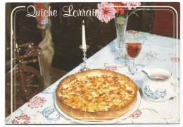 R2863 Quiche Lorraine - Ricetta Recette Recipe / Non Viaggiata - Ricette Di Cucina