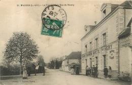 MAUVES SUR LOIRE LE TOURNANT DU BAS DU BOURG - Mauves-sur-Loire