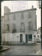 BORDEAUX 1960 /  RUE G BONNAC N°128 DEVANTURE COMMERCE BOULANGER / QUARTIER MERIADECK AVANT DEMOLITION / FORMAT 24X18 CM - Places