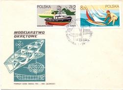 POLAND  MODEL PLANE  FDC COVER 6 STAMP  1981  (SET160180) - Francobolli