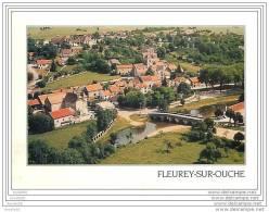 PRIX EN BAISSE &amp Sect  FLEUREY SUR OUCHE VUE GENERALE PONT SUR L&amp Acute OUCHE - France