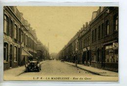 59-04 LA MADELEINE Belle Automobile Rue Du Quai écrite Du Bourg  En 1933 Longuement    /D03-2015 - La Madeleine