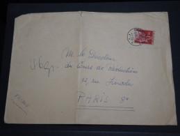 SUISSE - Enveloppe De Delemenont Pour La France En 1957 - A Voir - L 2548 - Suisse
