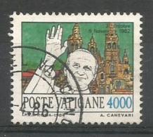 L. 4000 VATICANO  Viaggi Usato - Vaticano