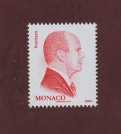 Nouveauté De 2016 - MONACO - Neuf ** - Effigie De S.A.S.. Le Prince Albert II - ROUGE Prioritaire - Validité Permanente - Monaco