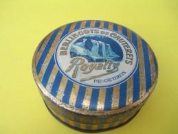 Boite Métallique/Confiserie/Berlingot De Cauterets/Royalty/PAU-CAUTERETS/Vers 1950-1960   BFPP88 - Boîtes
