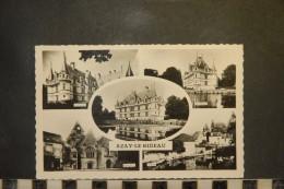 Cp, 37, Azay Le Rideau, Diverses Vues - Azay-le-Rideau