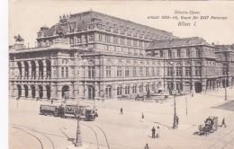 Wien  I.  Staats-Oper  Tramway - Tramways