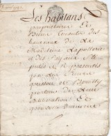 1783 - Acte Notarié - Cachet Généralité De Rouen - Taxe 2 Sols Et 4 Deniers Par Feuille - Document 6 Feuilles - Seals Of Generality