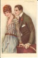 CPA Illustration Couple  12618 - Bompard, S.