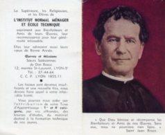 Santino Depliant CALENDRIER DON BOSCO 1965 - M95 - Religione & Esoterismo