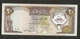 KUWAIT - CENTRAL BANK Of KUWAIT - 20 DINARS (1968) - Kuwait