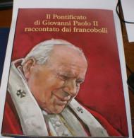 """VATICANO 2005, """"IL PONTIFICATO DI GIOVANNI PAOLO II RACCONTATO DAI FRANCOBOLLI - Collections"""