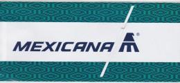 BIGLIETTO AEREO MEXICANA AIRLINES 2000 - Carte D'imbarco Di Aerei