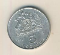 Chile V. 1972   5 Esuudos  (48004) - Chile