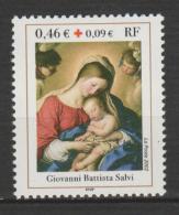 FRANCE  ,N°  3531   Croix Rouge  Battista Salvi - France