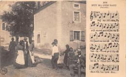 ¤¤  - 280   -  Carte Folklorique   -  Ney Ma Chin Saou  -  Partition  -  Folklore  -   ¤¤ - France