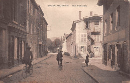 ¤¤  -  BOURG-ARGENTAL    -   Rue Nationale    -   ¤¤ - Bourg Argental