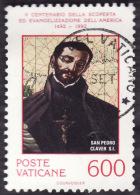 VATICAN 1992 - YT 920 - St Pierre Clavier - Cote 1.25e - Vatican
